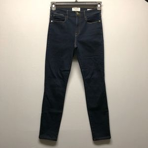 Frame Le High Skinny Jeans Dark Wash G13